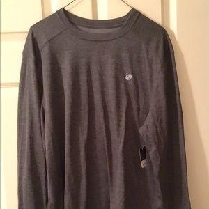 Long Sleeve Men's Athletic Shirt